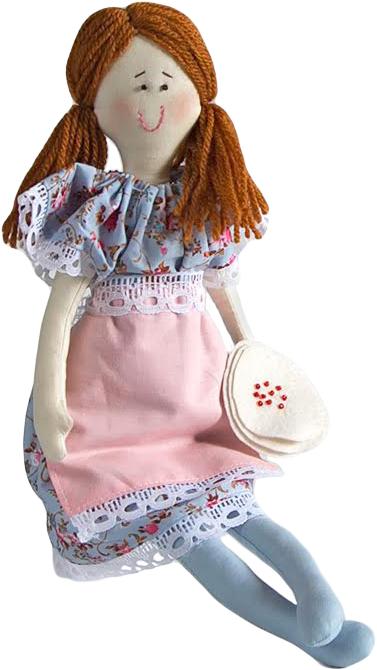 Набор для шитья игрушки Цветница Милаша Хозяюшка, 36 см набор для творчества цветница набор для шитья текстильной игрушки зайка дачница