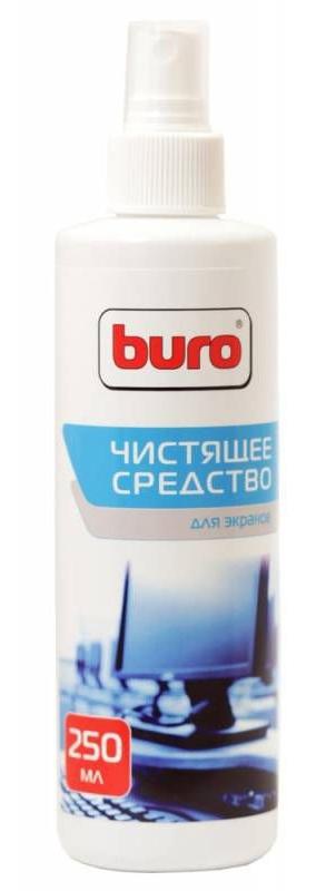 Спрей для экранов ЖК мониторов Buro BU-Sscreen, 250 мл спрей чистящий для мониторов stanger 250 мл