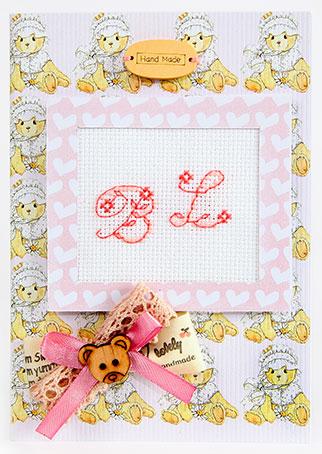 Набор для изготовления открытки Luca-S, 10 х 14 см набор для изготовления открытки luca s овечка 10 х 14 см