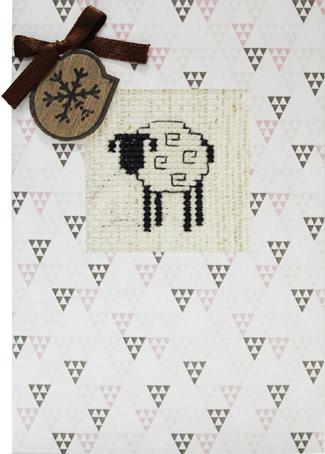 Набор для изготовления открытки Luca-S Овечка, 10 х 14 см набор для изготовления открытки luca s овечка 10 х 14 см