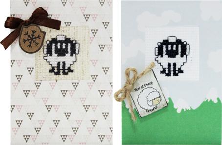 Набор для изготовления 2-х мини открыток Luca-S, 7 х 10 см набор для изготовления открытки luca s овечка 10 х 14 см