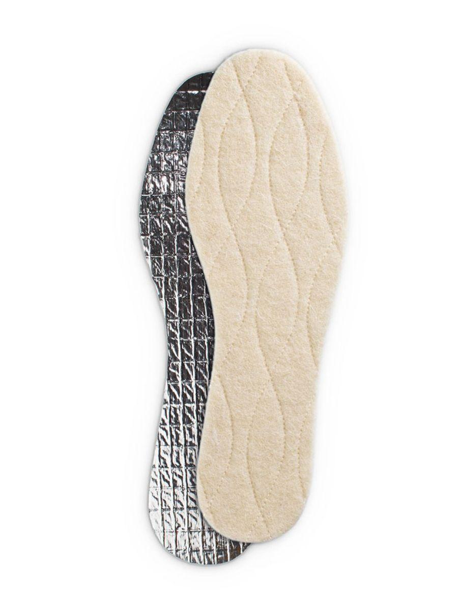 Стельки зимние Collonil Thermo, трехслойные, с фольгой, 2 шт. Размер 43 collonil стельки с мехом купить