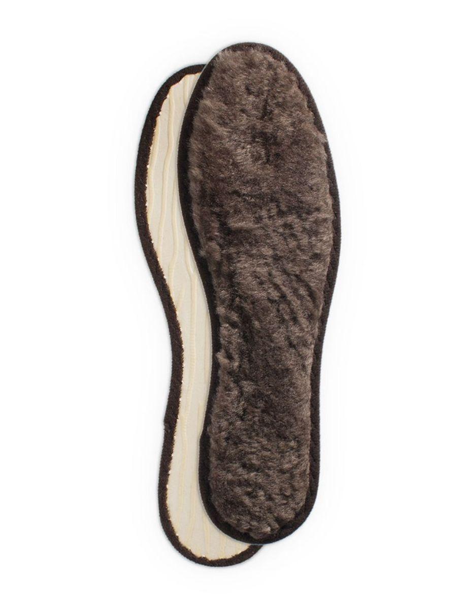 Стельки зимние для обуви Collonil Polar, из меха ягненка, 2 шт. Размер 42 длина стельки 42 размер