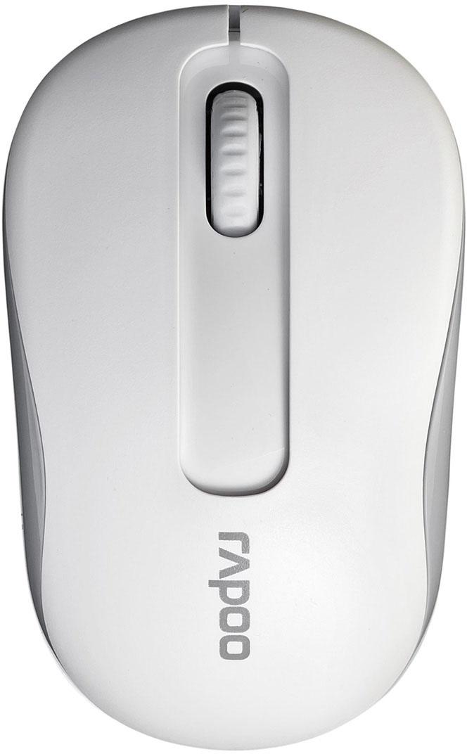 лучшая цена Мышь Rapoo M10, White