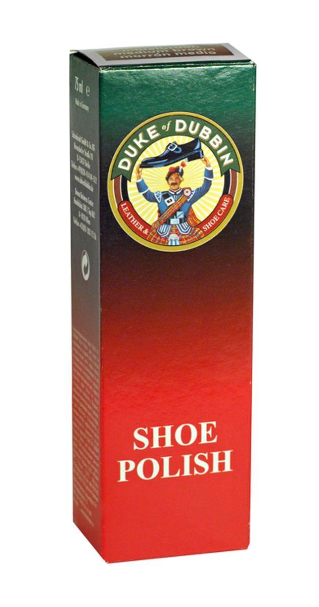 Крем для гладкой кожи Duke of Dubbin Duke Shoe Polish, цвет: черный, 75 мл duke