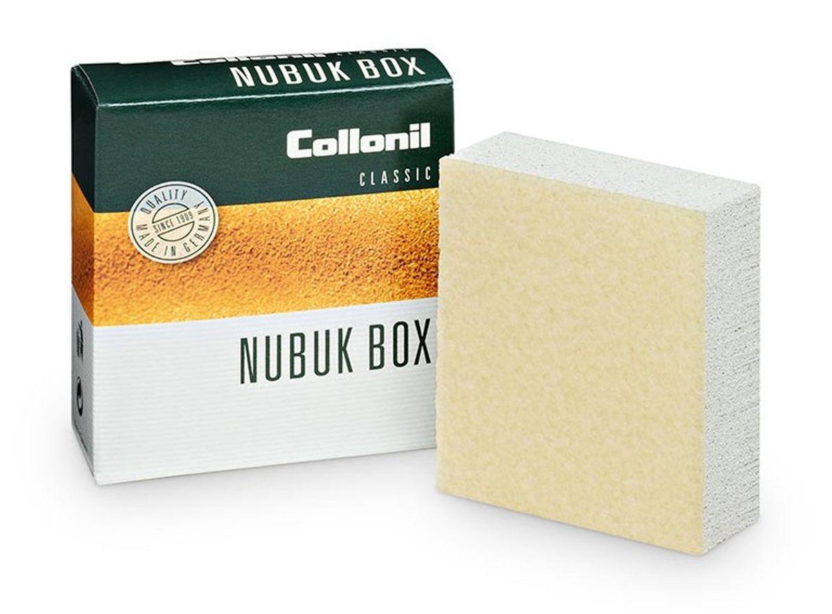 Ластик для ухода за обувью Collonil Nubuk Box/Vel.Nub.Box, для замши, велюра, нубука щетка для замши нубука и велюра штрих основной уход тройная цвет фиолетовый белый