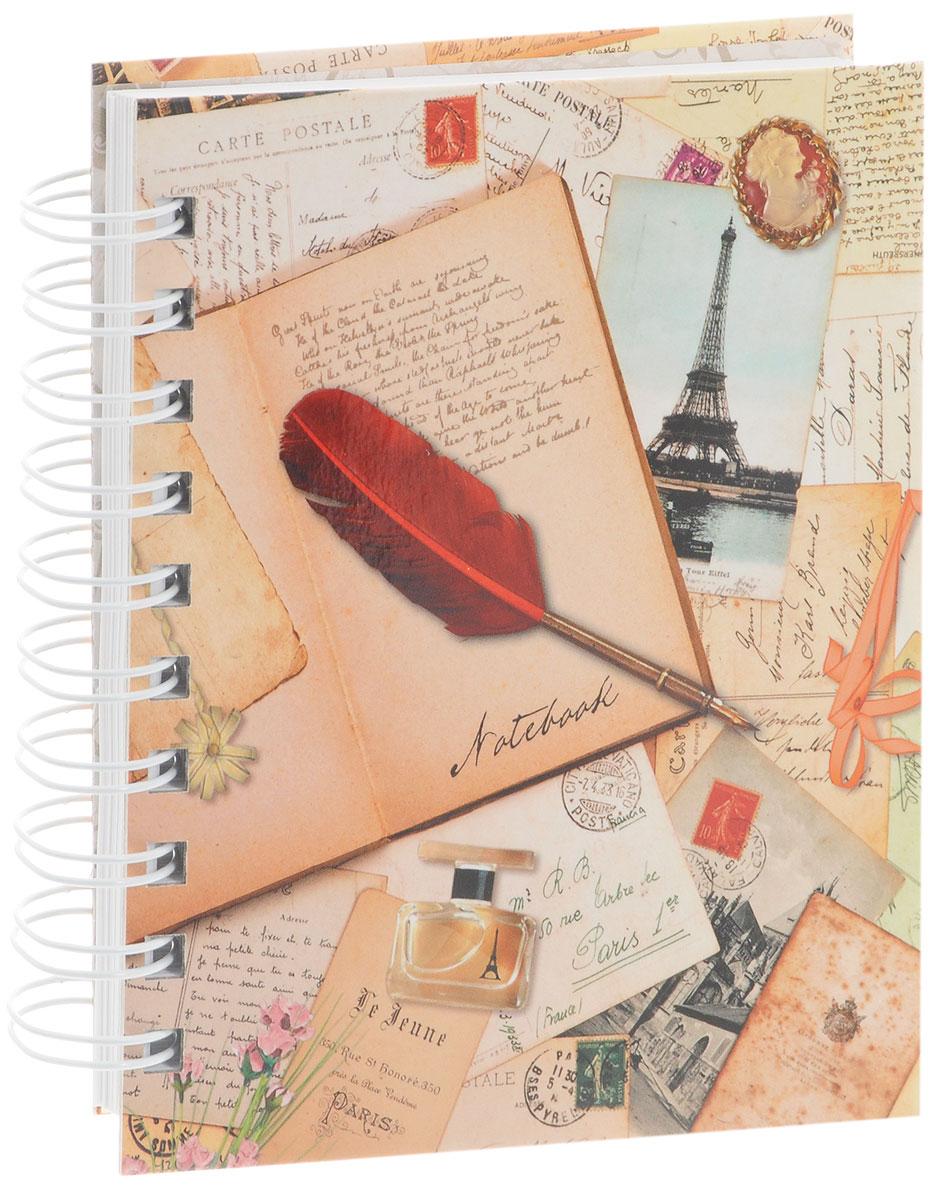 Винтажные открытки тетрадь 100 листов
