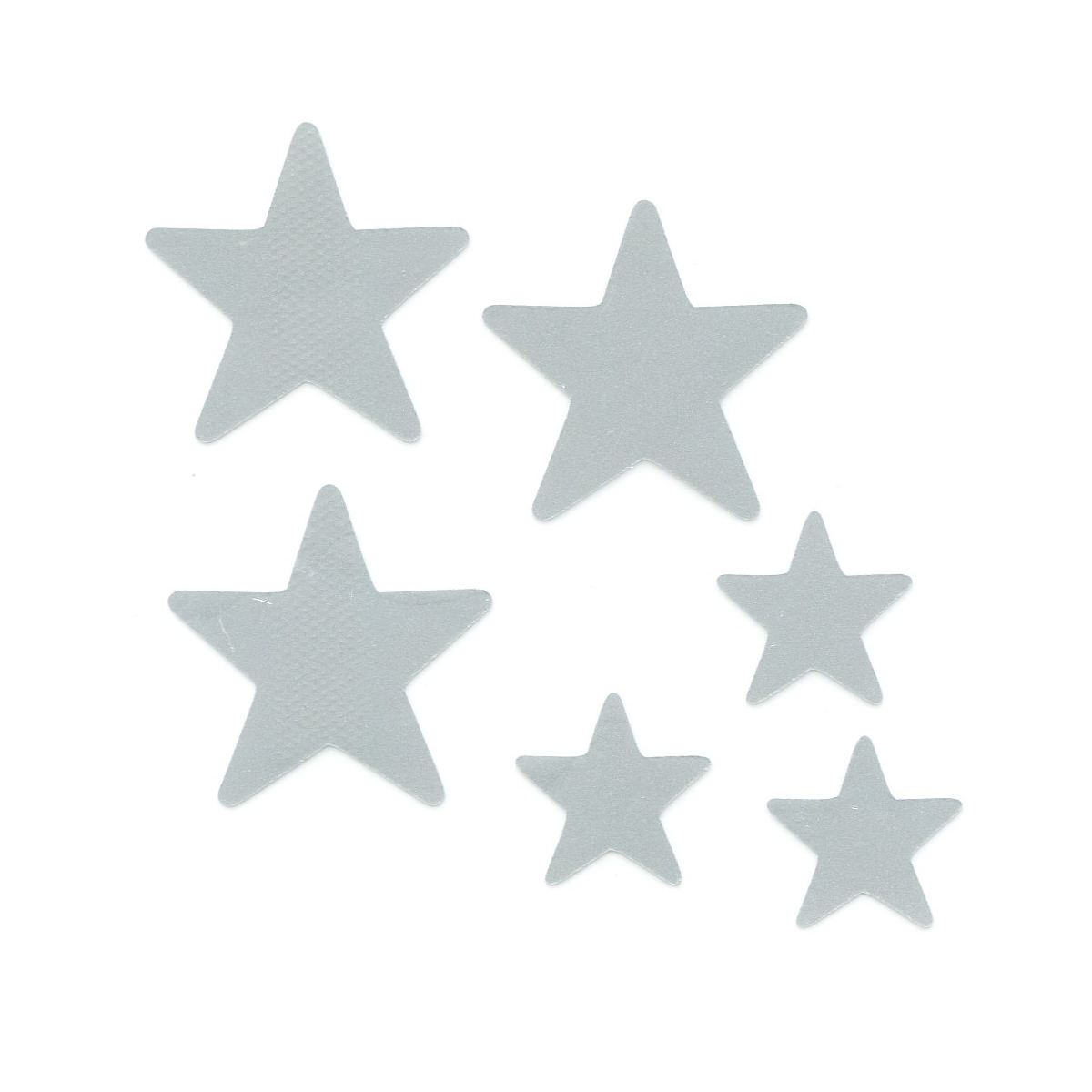 Набор светоотражающих наклеек Bestex Звезды набор шкатулок для рукоделия bestex 3 шт zw001250