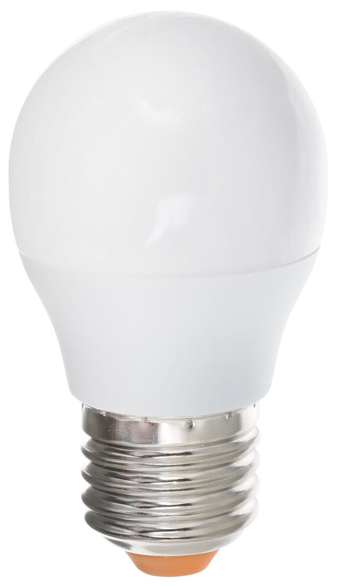 Светодиодная лампа Kosmos, теплый свет, цоколь E27, 7W, 220V. Lksm_LED7wGL45E2730