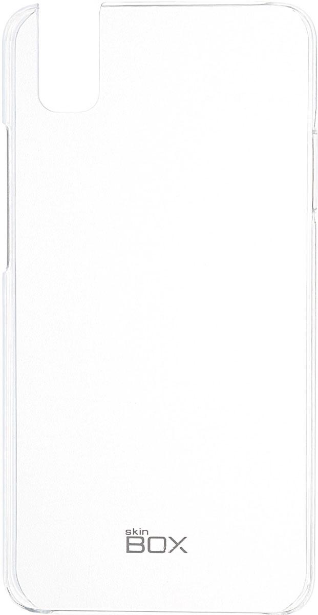 цены Skinbox 4People Crystal чехол для Huawei ShotX, Transparent