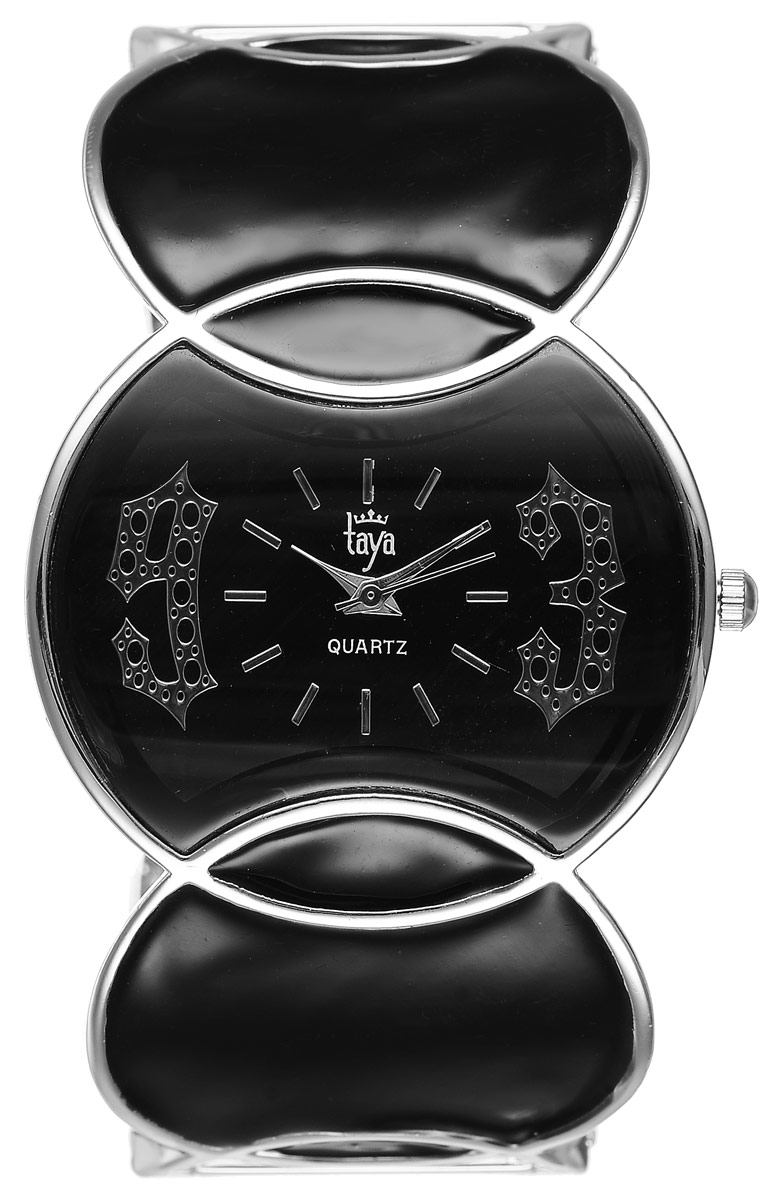 Часы наручные женские Taya, цвет: серебристый, черный. T-W-0442 все цены