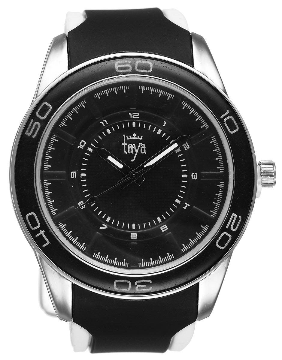 Часы наручные женские Taya, цвет: серебристый, черный. T-W-0207 все цены