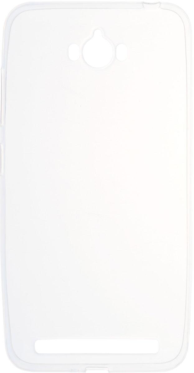 цена на Skinbox 4People Slim Silicone чехол для Asus Zenfone Max ZC550KL, Transparent