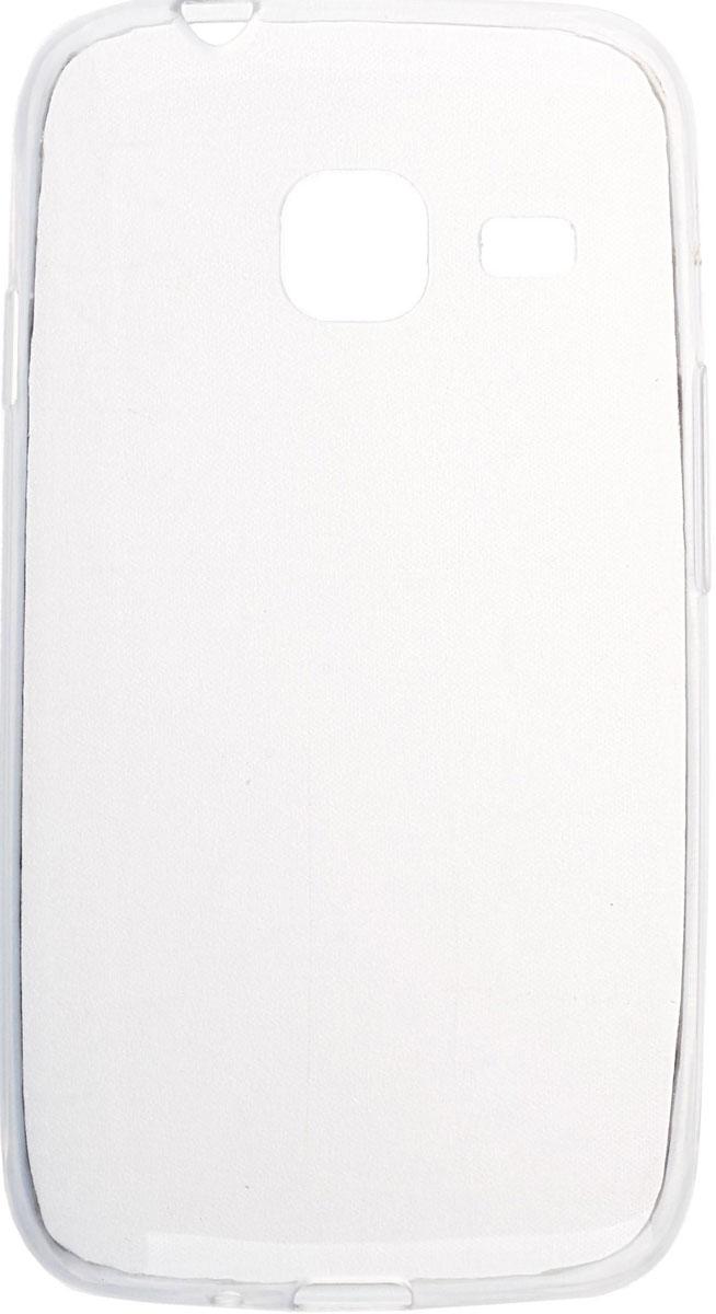 Skinbox 4People Slim Silicone чехол для Samsung Galaxy J1 mini (2016), Transparent стоимость
