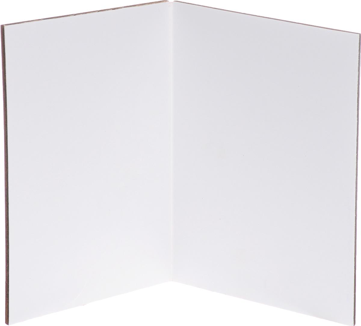 Открытка авторская Optcard 024-W, коричневый Optcard