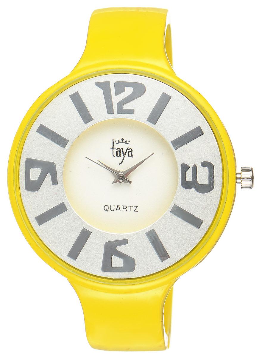Часы наручные женские Taya, цвет: желтый. T-W-0457 все цены