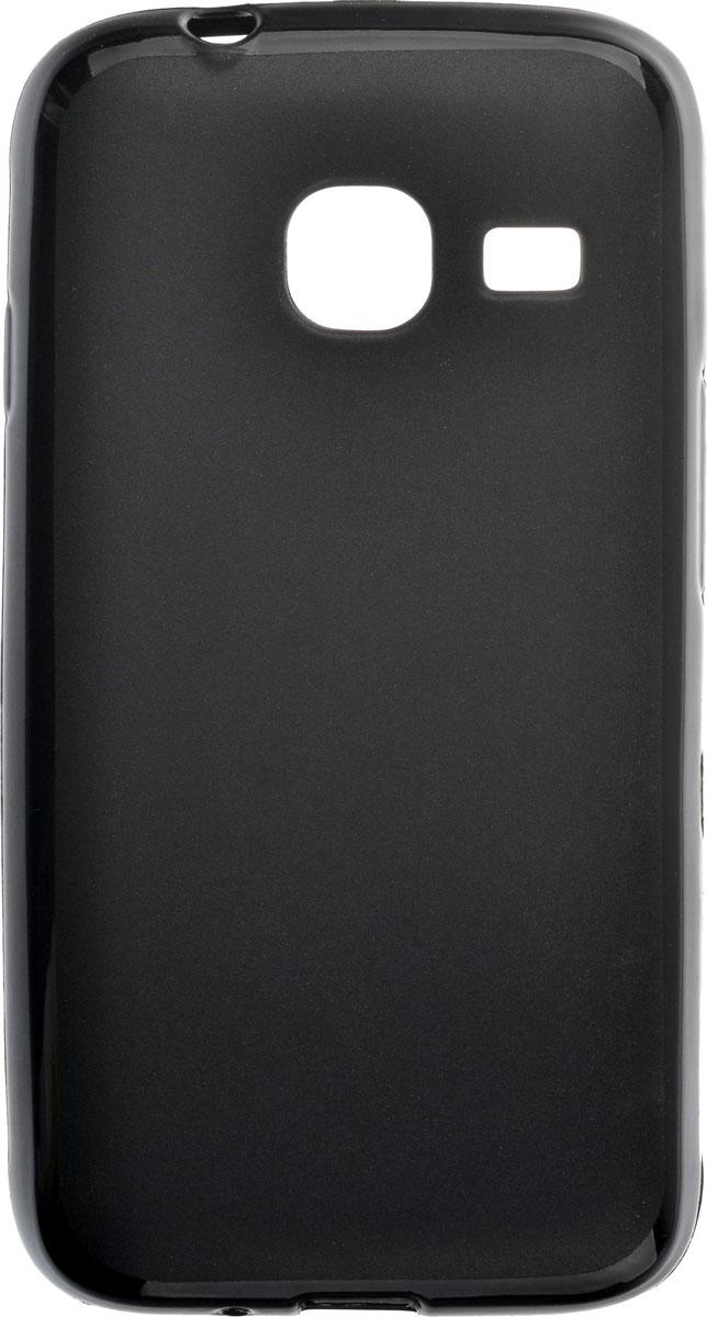 Skinbox Shield Silicone чехол для Samsung Galaxy J1 mini (2016), Black накладка skinbox slim silicone для samsung galaxy j1 2016 2000000090788 прозрачный