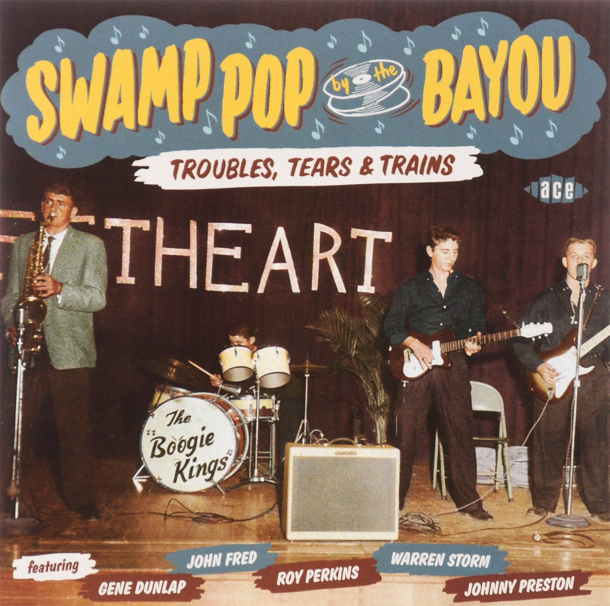 Swamp Pop By The Bayou. Troubles, Tears & Trains