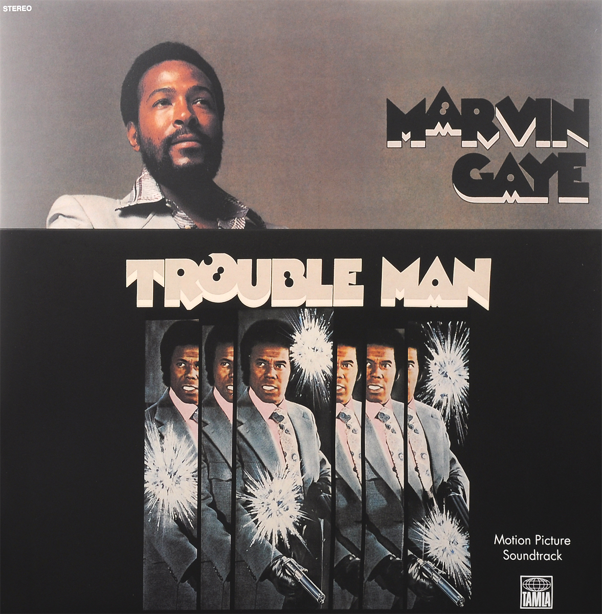Марвин Гэй Marvin Gaye. Trouble Man. Motion Picture Soundtrack (LP) leonard cohen i m your man motion picture soundtrack