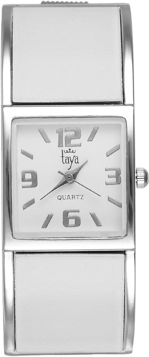 Часы наручные женские Taya, цвет: серебристый, белый. T-W-0407 все цены