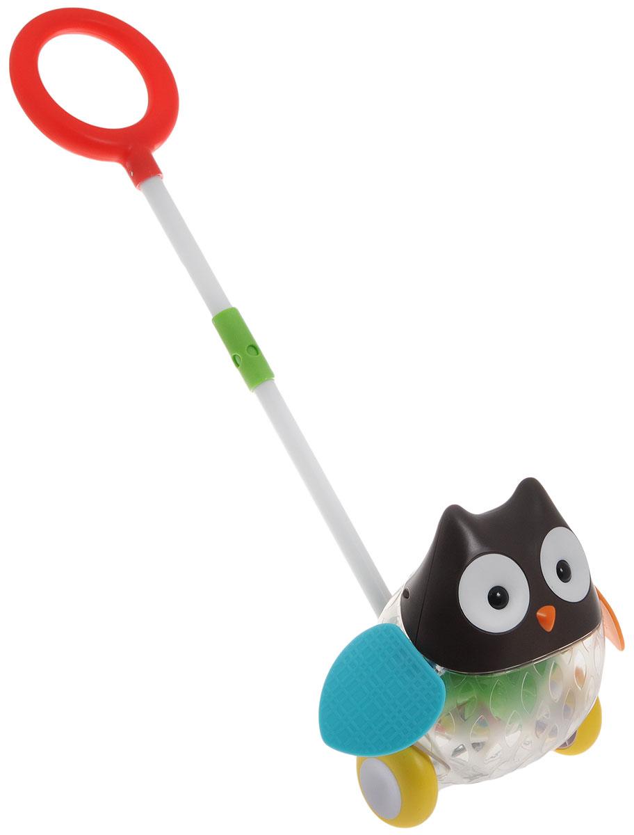 цены на Skip Hop Игрушка-каталка с ручкой Сова  в интернет-магазинах