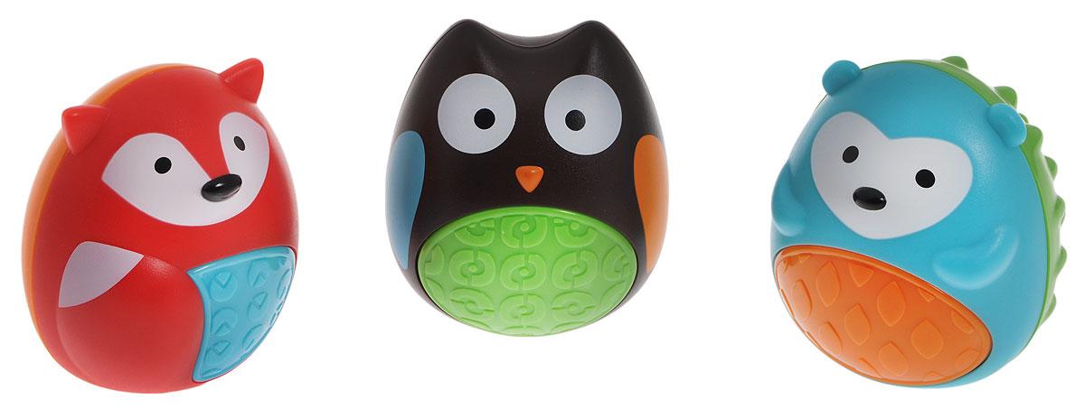 цены на Skip Hop Развивающая игрушка-погремушка Трио  в интернет-магазинах