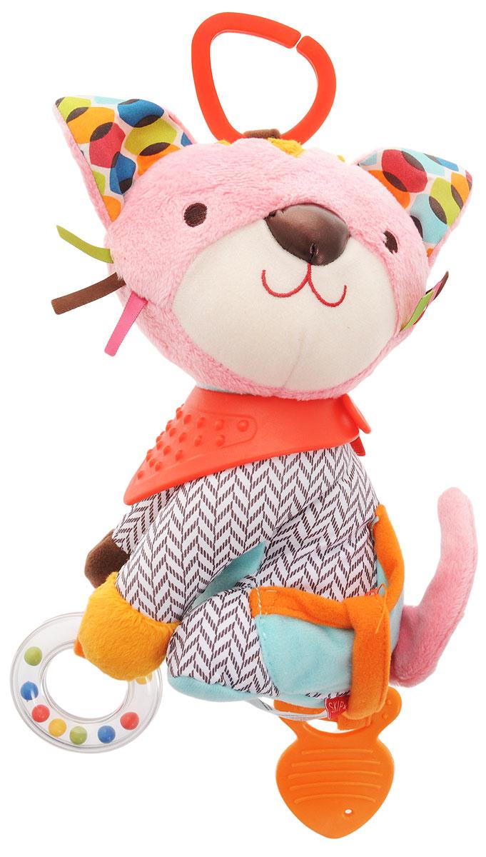 цены на Skip Hop Развивающая игрушка-подвеска Котенок  в интернет-магазинах