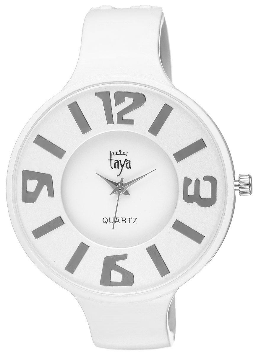 Часы наручные женские Taya, цвет: белый. T-W-0455 все цены