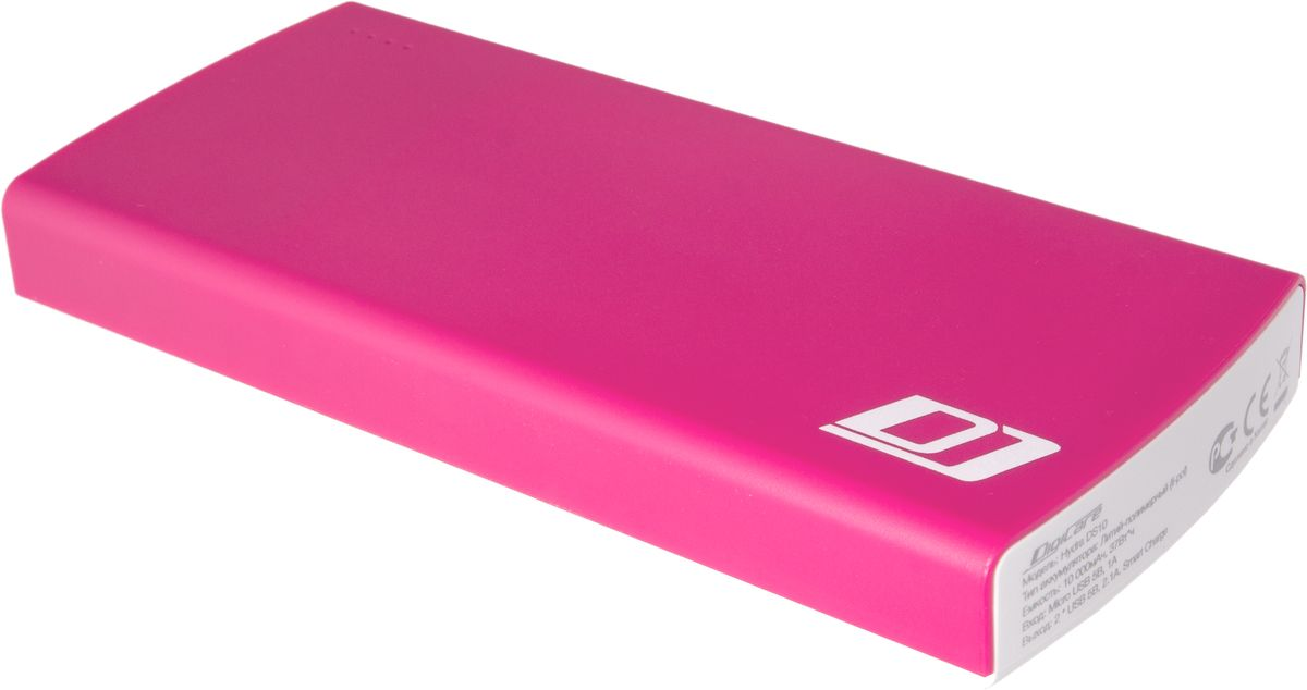 DigiCare Hydra DS10, Red White внешний аккумулятор (10000 мАч) аккумулятор