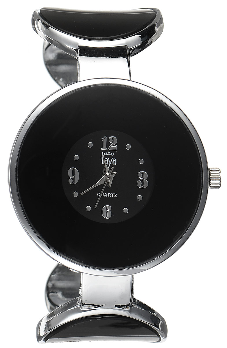 Часы наручные женские Taya, цвет: серебристый, черный. T-W-0453 все цены