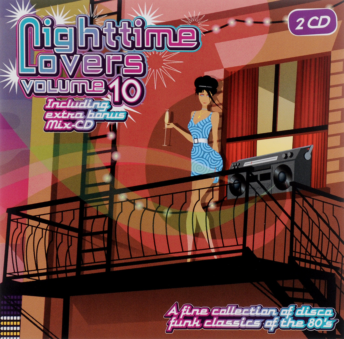 The Jones Girls,Кейт Свит,Jazzy Dee,One On One Nighttime Lovers. Volume 10 (2 CD)