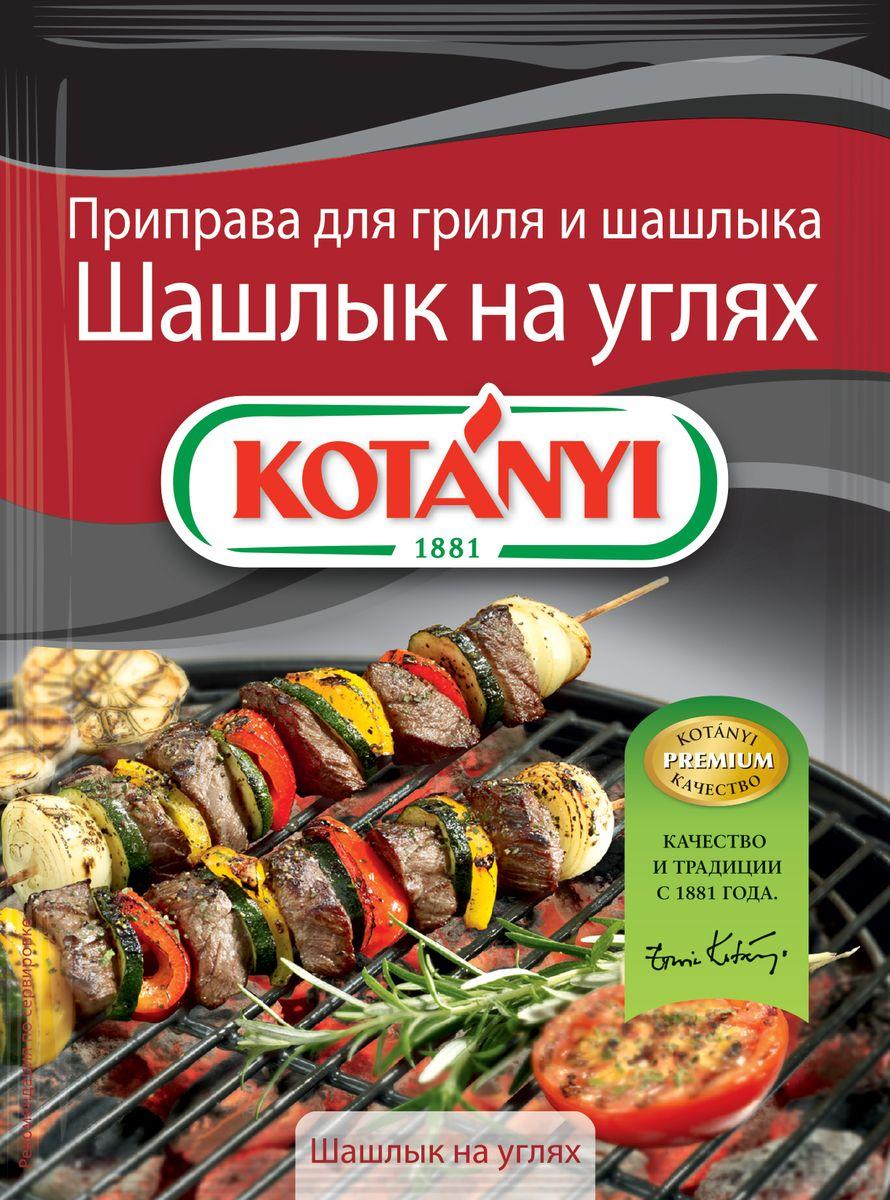 Kotanyi Приправа для гриля и шашлыка Шашлык на углях, 30 г приправа для шашлыка