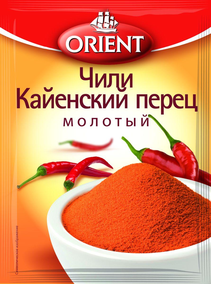 Orient Чили кайенский перец молотый, 12 г чили