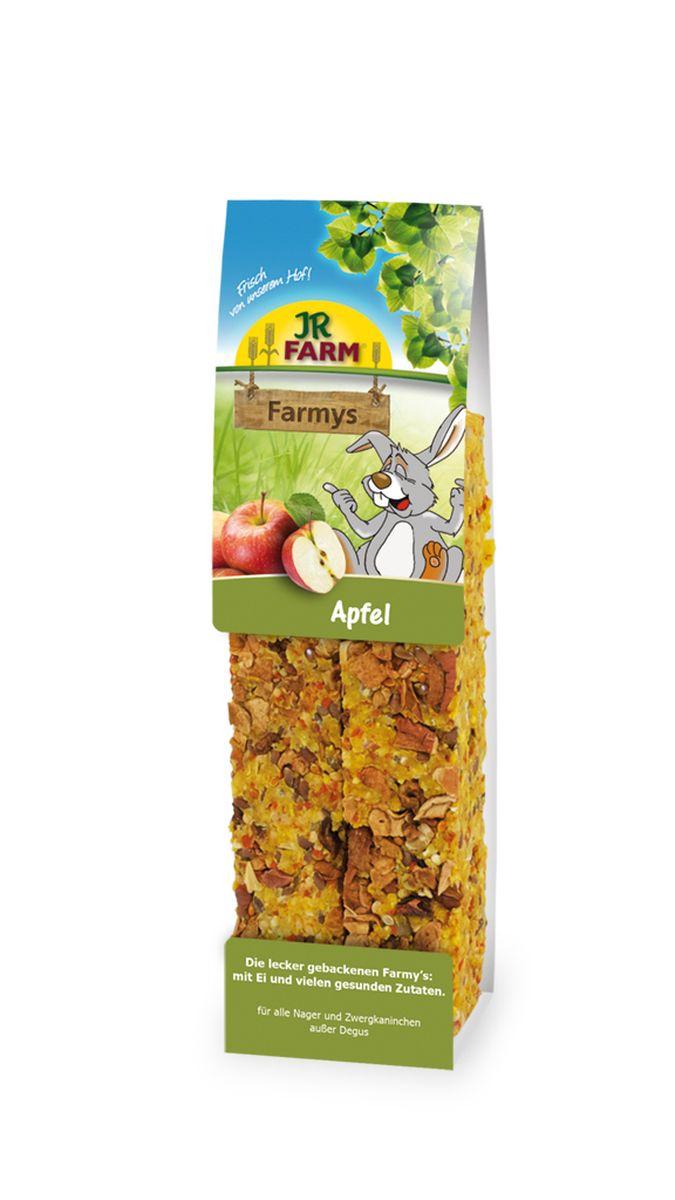 Лакомство для грызунов JR Farm Палочки, с яблоком, 160 г цена