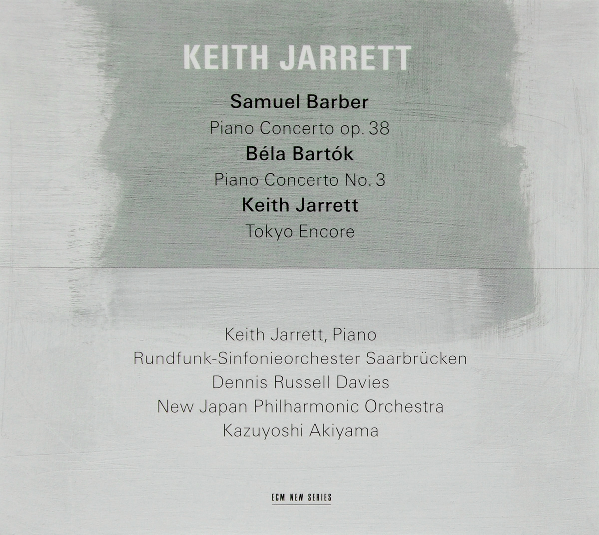 Dennis Russell Davies, Keith Jarrett, Saarbrucken Radio Symphony Orchestra Keith Jarrett. Piano Concertos цена и фото