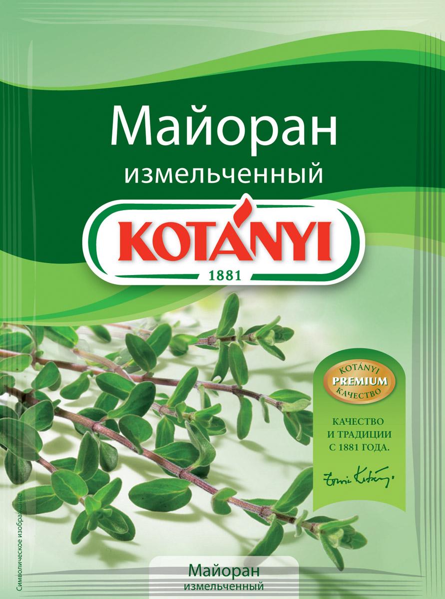 Kotanyi Майоран измельченный, 6 г kotanyi укроп измельченный 11 г