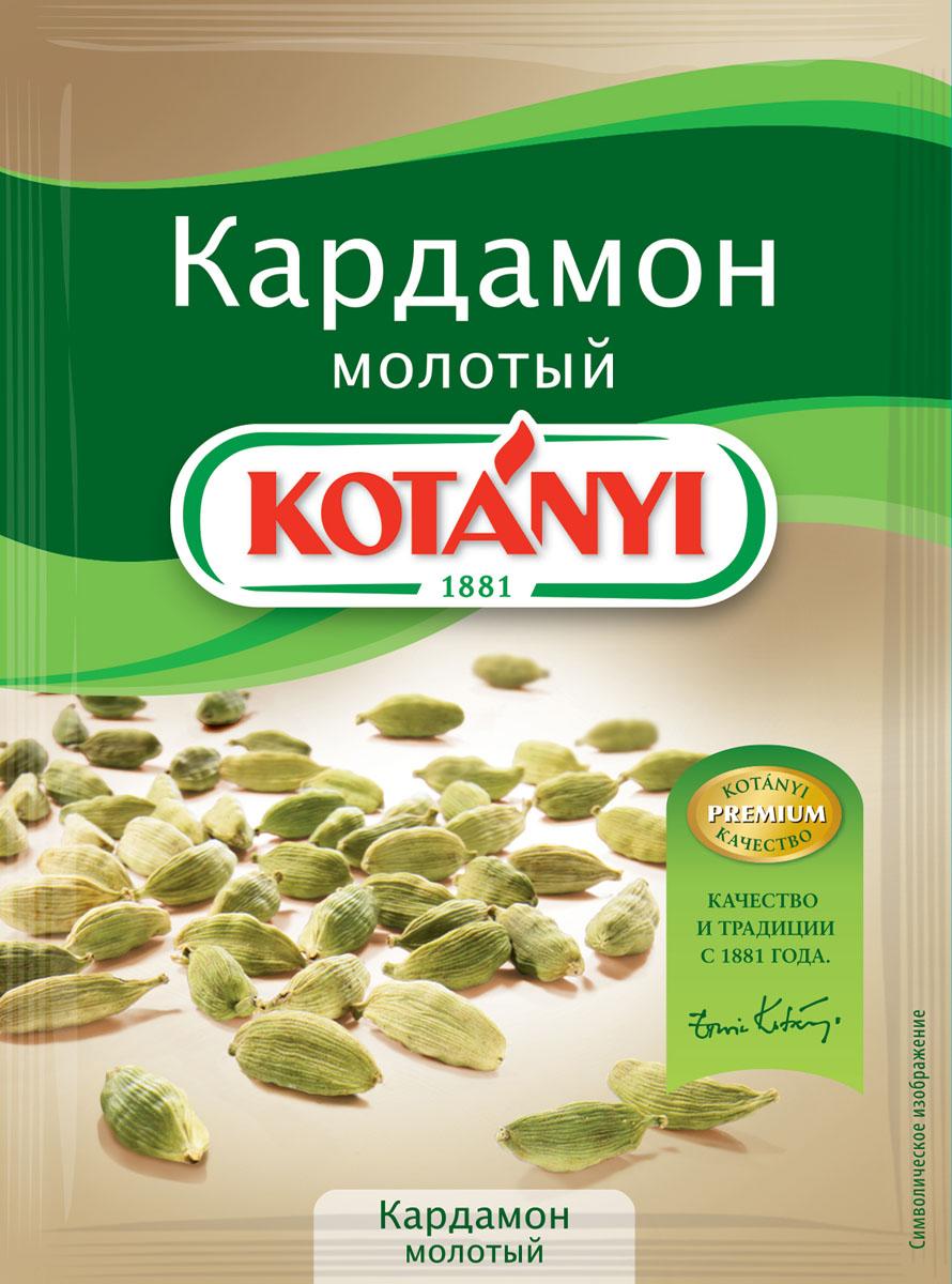 Kotanyi Кардамон молотый, 10 г kotanyi для блюд вок 320 г