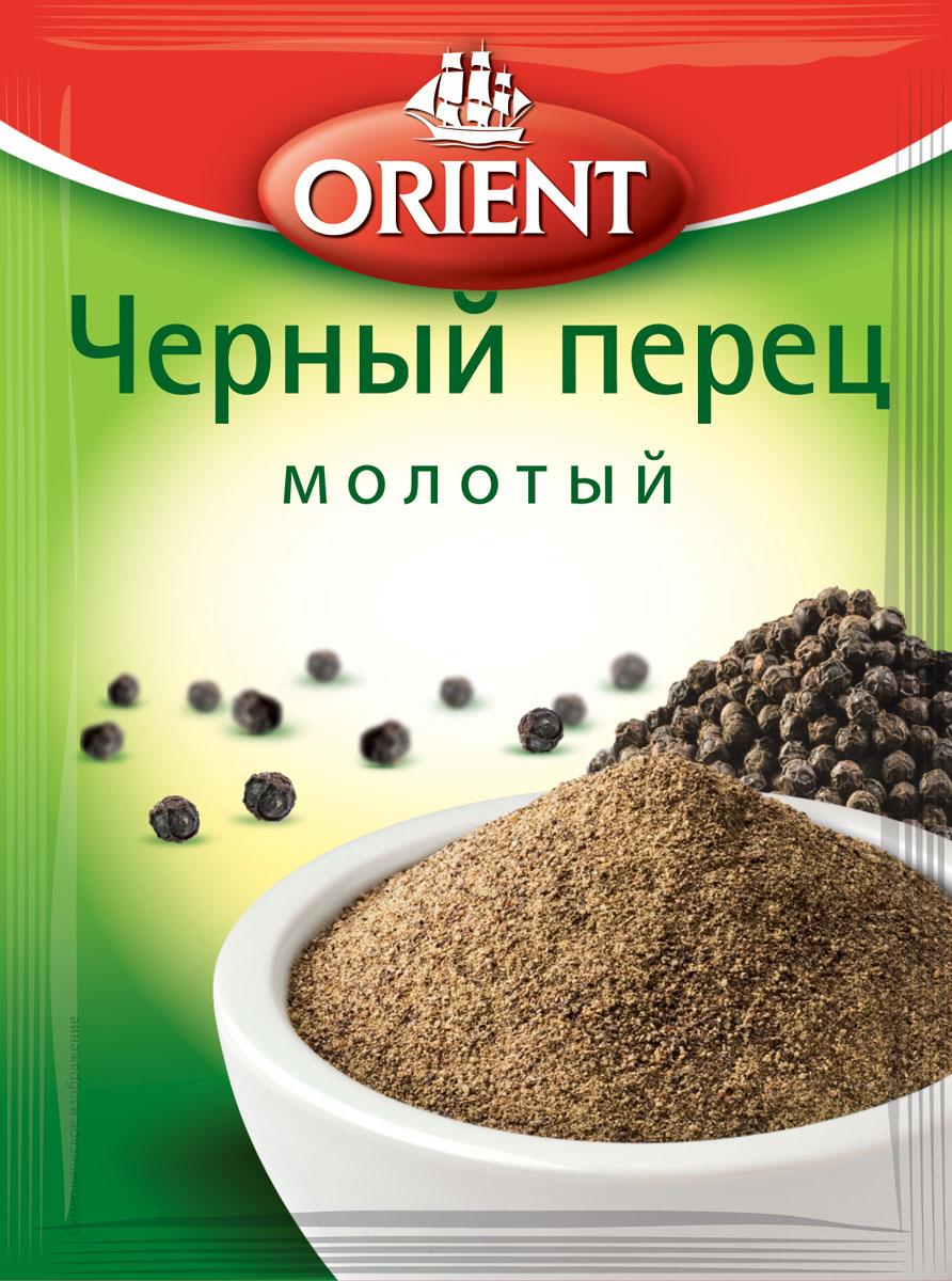 Orient Черный перец молотый, 10 г orient чили кайенский перец молотый 12 г