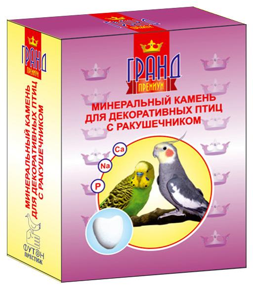 Минеральный камень для средних птиц