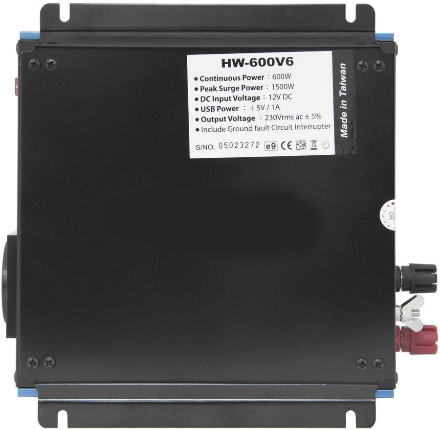 цена на Автоинвертер Titan HW-600V6