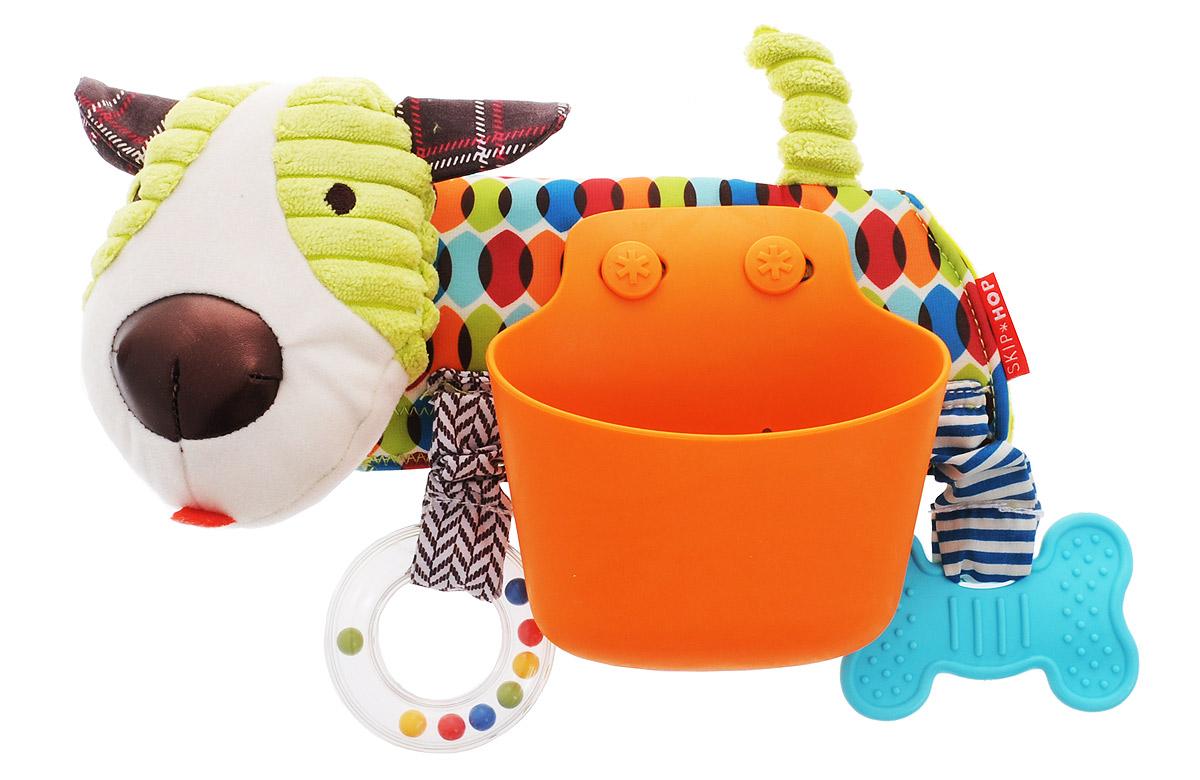 Skip Hop Развивающая игрушка-подвеска на коляску Щенок