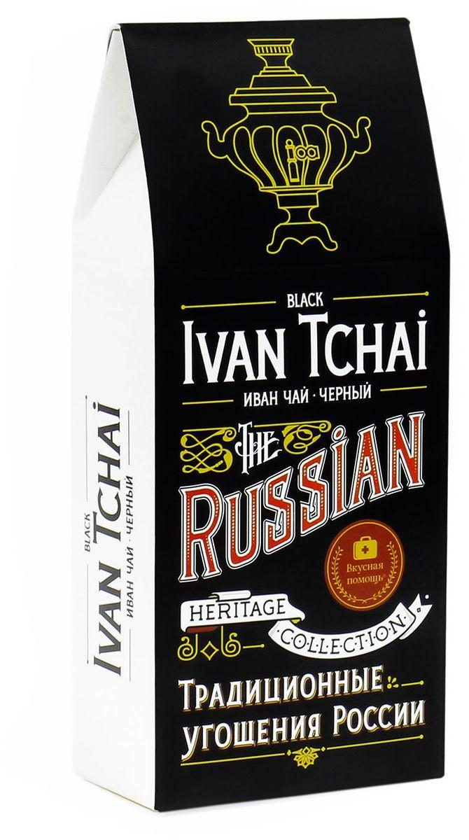 Вкусная помощь Иван-чай черный листовой чай, 70 г чай листовой красный вкусная помощь любимой мамочке 50 г