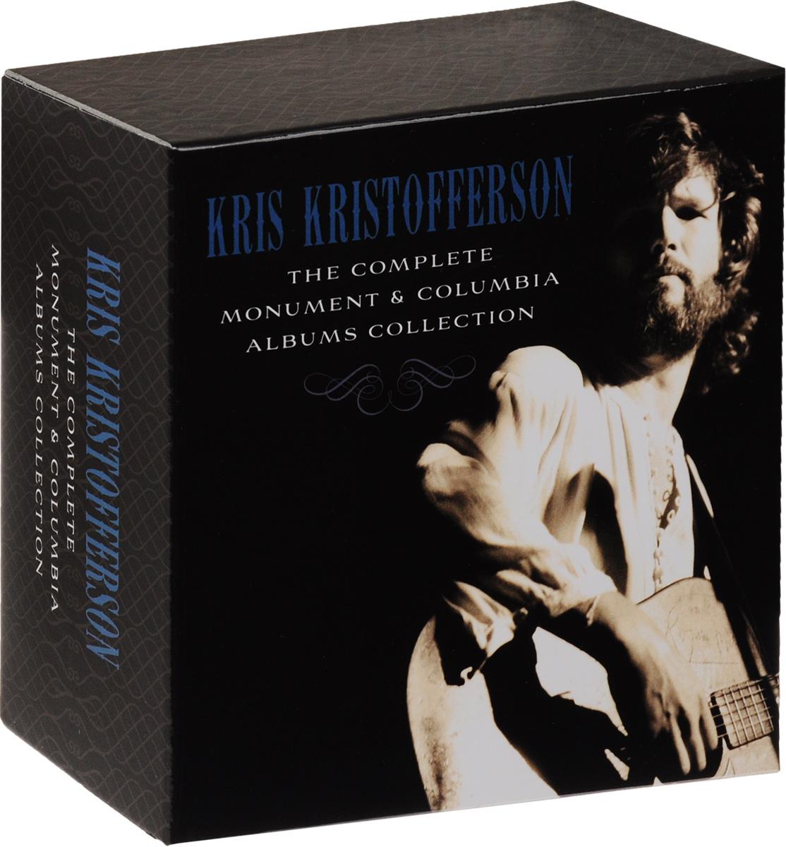 лучшая цена Крис Кристофферсон Kris Kristofferson. The Complete Monument & Columbia Albums Collection (16 CD)