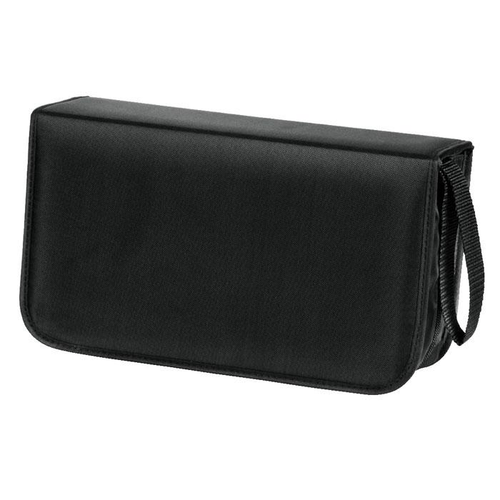 Hama H-33833 Nylon, Black сумка для CD (120 шт) hama h 103448 black