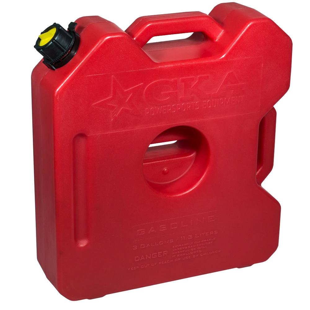 Канистра экспедиционная GKA, цвет: красный, 12 л канистра для воды нпп технохим складная 7 л