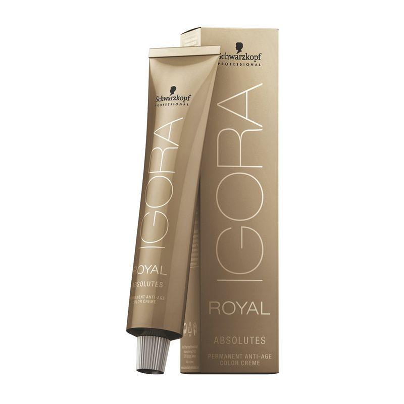 Igora Royal Краска для волос Absolute 5-60 светлый коричневый шоколадный натуральный 60 мл igora royal краска для волос 4 0 средний коричневый натуральный 60 мл