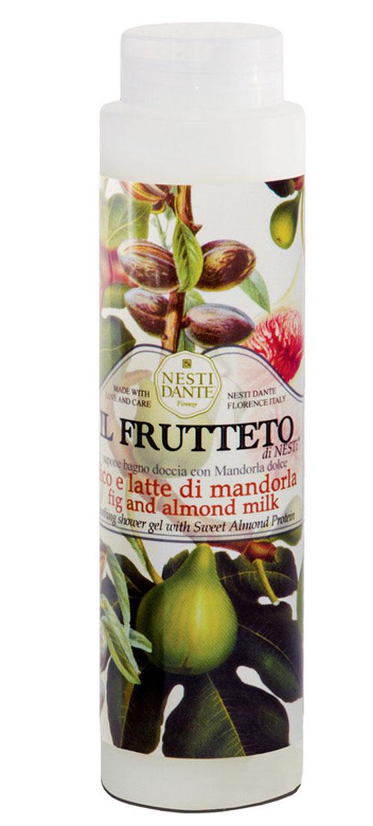 Nesti Dante гель для душа Fig & Almond Milk Инжир и миндальное молоко 300 мл