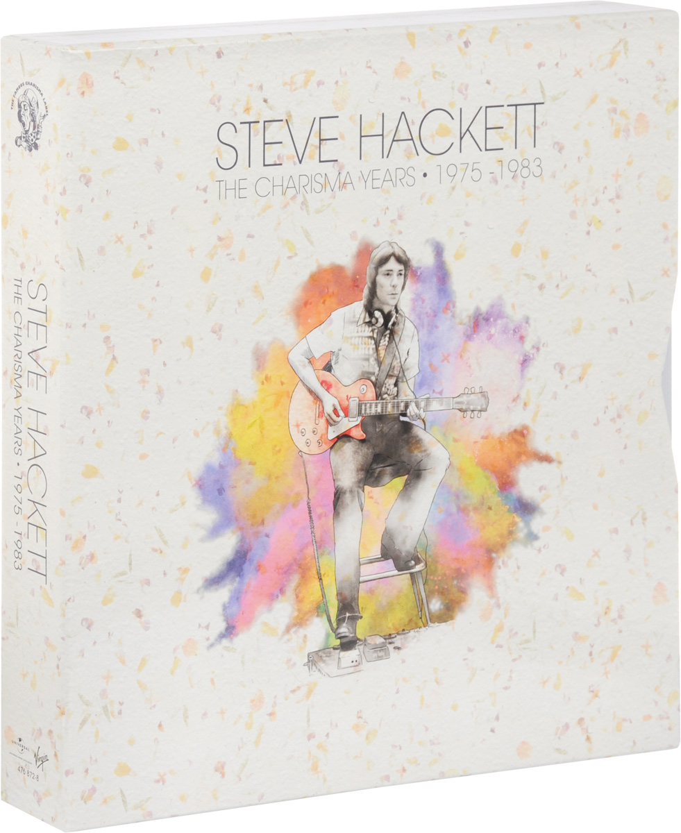 Стив Хэкетт Steve Hackett. The Charisma Years. 1975-1983 (11 LP)