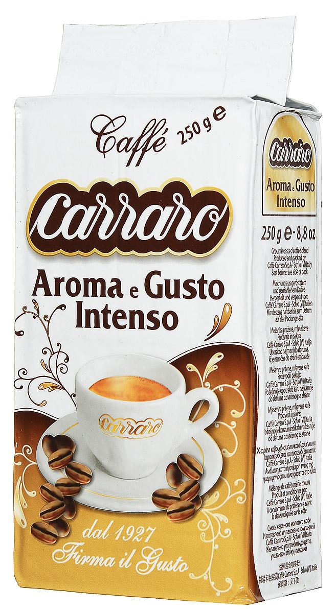 Carraro Aroma e Gusto кофе молотый, 250 г цена 2017