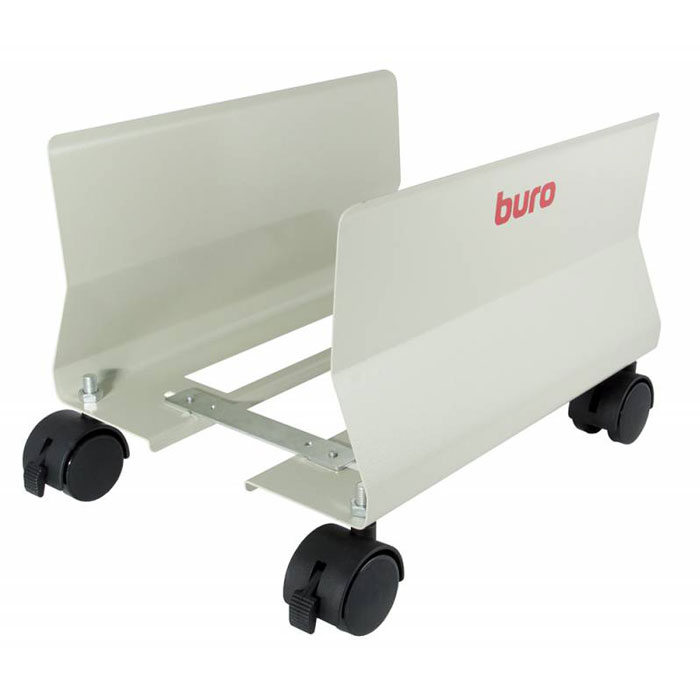 Подставка для ПК Buro BU-CS1AL, Light Grey